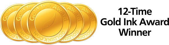 Century Publishing - Gold Ink Award Winner